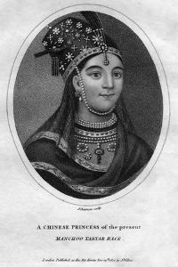 A Chinese Princess of the Manchoo Tartar Race, 1801 by J Chapman