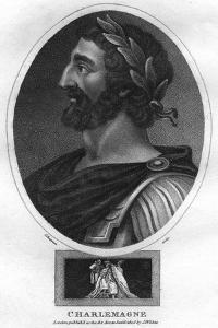 Charlemagne, or Charles the Great, King of the Franks and Holy Roman Emperor by J Chapman