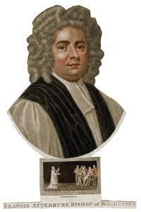 Francis Atterbury, Bishop of Rochester, 18th Century by J Chapman