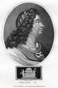 George I of Great Britain by J Chapman
