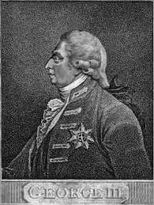 George III of the United Kingdom by J Chapman