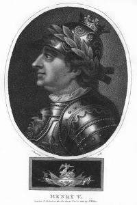 Henry V, King of England by J Chapman