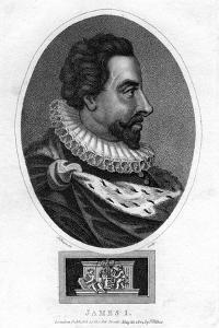James I of England by J Chapman