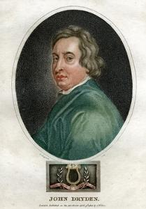 John Dryden, 17th Century English Dramatist and Poet Laureate by J Chapman