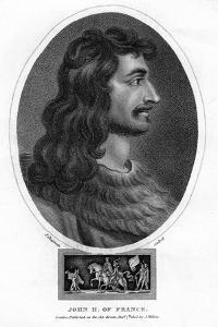 John II, King of France by J Chapman