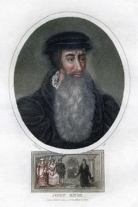John Knox, Scottish Religious Reformer, 1812 by J Chapman