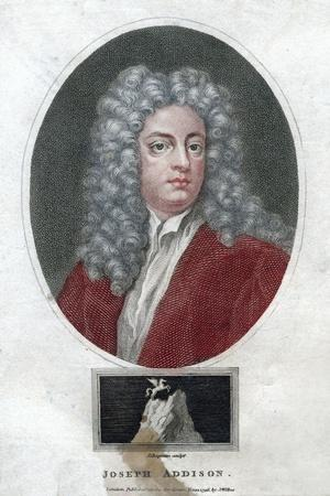Joseph Addison, English Politician and Writer, 1796