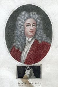 Joseph Addison, English Politician and Writer, 1796 by J Chapman