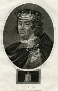 King Edward I of England by J Chapman