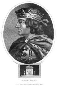 King John (1167-121), 1804 by J Chapman