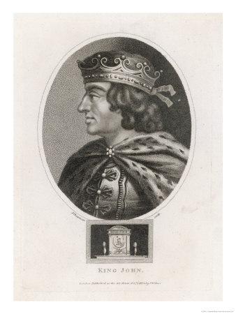 King John of England Reigned: 1199-1216 Son of Henry II