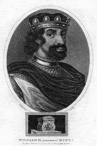 King William II of England by J Chapman