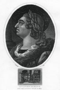 Louis XV, King of France by J Chapman