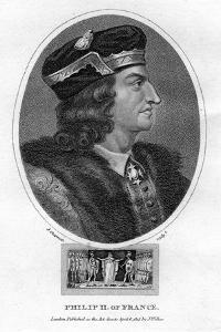 Philip II, King of France by J Chapman