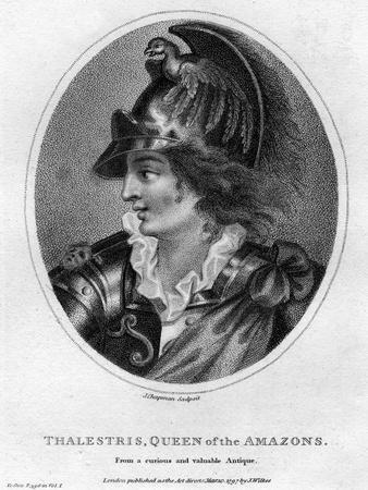 Thalestris, Mythical Queen of the Amazons, 1797