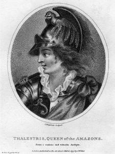 Thalestris, Mythical Queen of the Amazons, 1797 by J Chapman