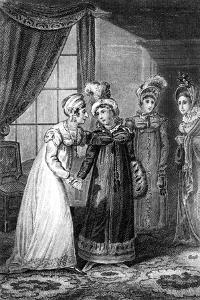 The Last Interview Between Her Majesty and Princess Charlotte, 1820 by J Chapman