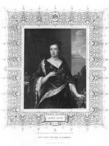 Anne, Queen of Great Britain, 19th Century by J Cochran