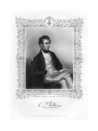 Charles Pelham Villiers (1802-189), British Lawyer and Politician, 19th Century