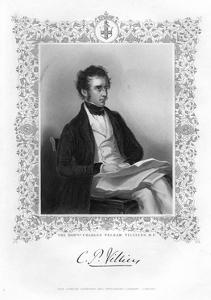 Charles Pelham Villiers (1802-189), British Lawyer and Politician, 19th Century by J Cochran