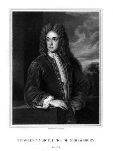 Charles Talbot, 1st Duke of Shrewsbury, British Politician by J Cochran