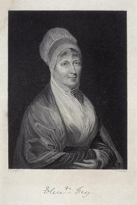 Elizabeth Fry, 1844 by J Cochran
