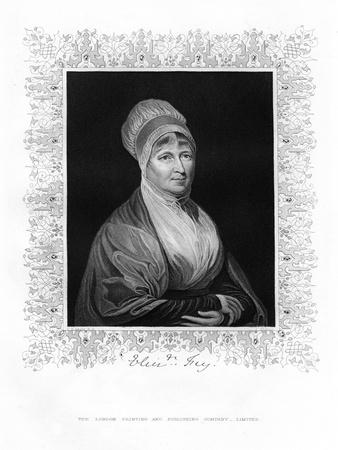 Elizabeth Fry, British Philanthropist, 19th Century