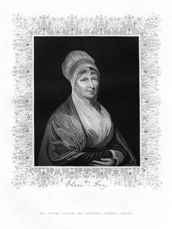 Elizabeth Fry, British Philanthropist, 19th Century