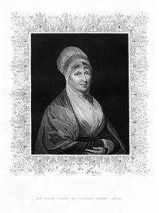 Elizabeth Fry, British Philanthropist, 19th Century by J Cochran