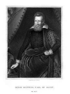 Henry Danvers, Earl of Danby by J Cochran