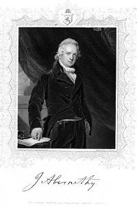 John Abernethy (1764-183), English Surgeon and Physiologist by J Cochran