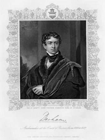 John George Lambton, Earl of Durham, 19th Century