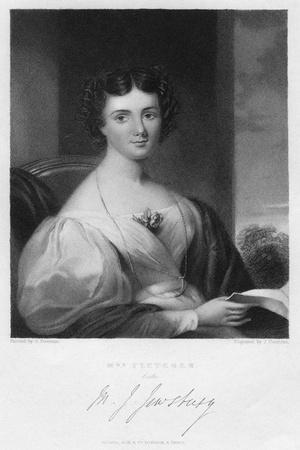 Mrs Fletcher, C1830S