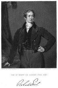 Robert Peel, 19th Century British Statesman by J Cochran