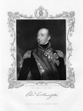Sir Edward Codrington, British Admiral, 19th Century