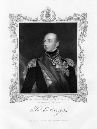 Sir Edward Codrington, British Admiral, 19th Century