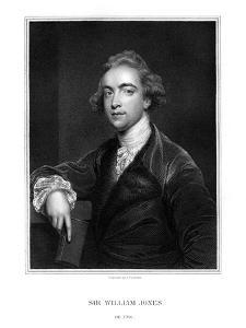 Sir William Jones, English Orientalist, Philologist and Jurist by J Cochran