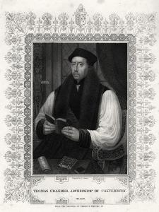 Thomas Cranmer, Archbishop of Canterbury, 19th Century by J Cochran
