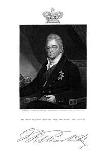 William IV, King of Great Britain and Ireland and of Hanover, 19th Century by J Cochran
