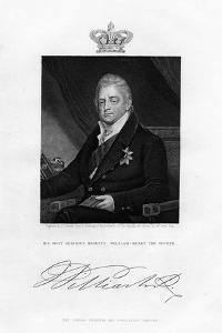 William IV, King of the United Kingdom, 19th Century by J Cochran