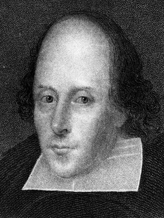 William Shakespeare, English Poet and Playwright