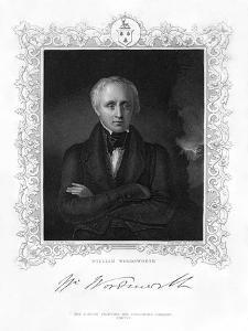 William Wordsworth, English Romantic Poet, 19th Century by J Cochran