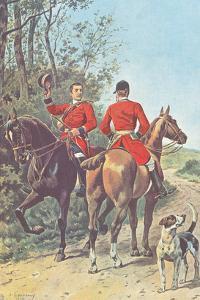Hunting Team (1892) by J. Condamy