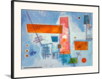 J Contard-Wassily Kandinsky-Framed Art Print