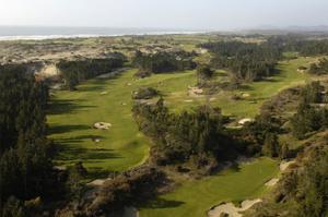 Bandon Trails Golf Course, aerial by J.D. Cuban