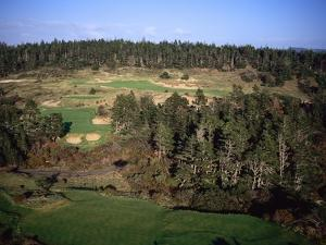 Bandon Trails Golf Course, Holes 5 and 16 by J.D. Cuban