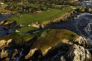 Cypress Point Golf Course, cliffs by J.D. Cuban