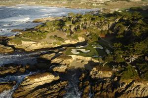 Cypress Point Golf Course, Pebble beach by J.D. Cuban