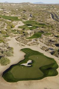 Desert Mountain Renegade Course, Hole 6 by J.D. Cuban