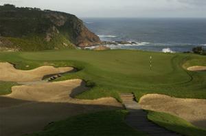 Pezula Championship Golf Course, Hole 14 by J.D. Cuban